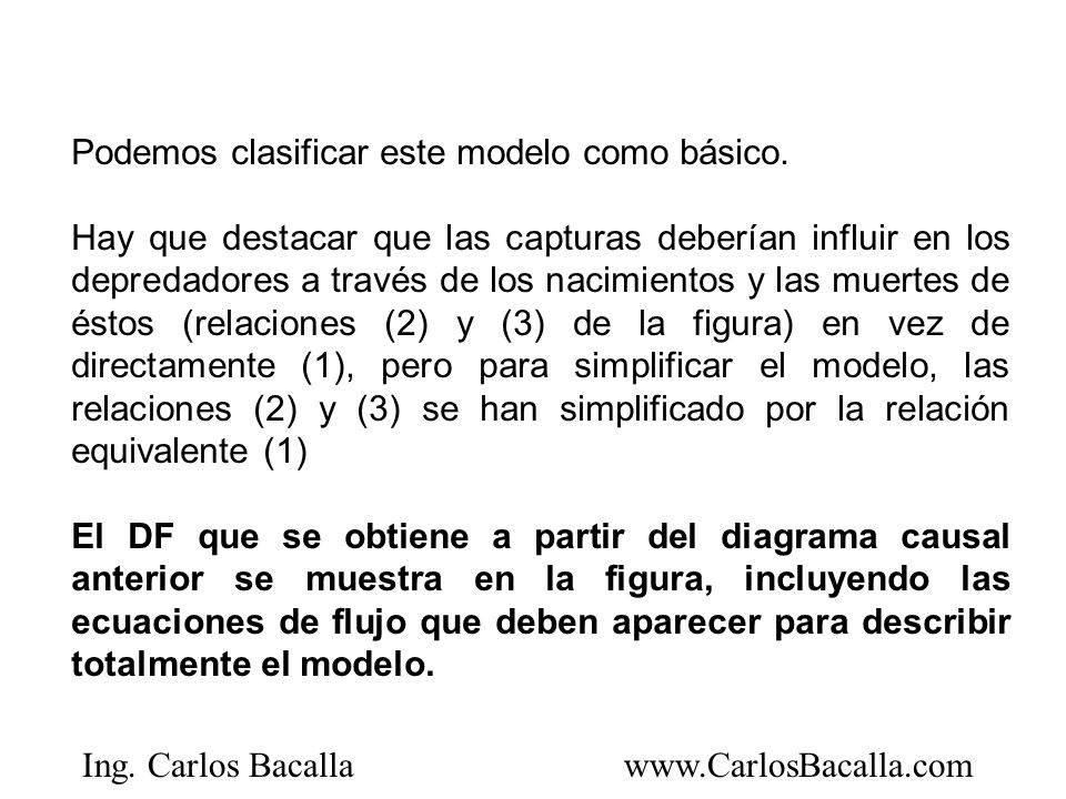 Podemos clasificar este modelo como básico.