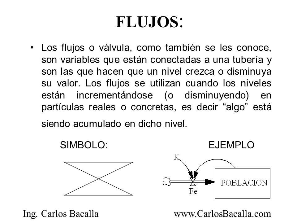 FLUJOS: