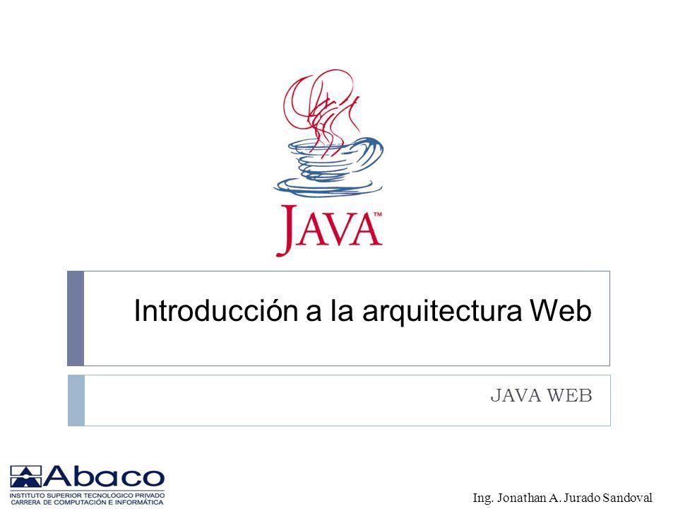 Introducción a la arquitectura Web