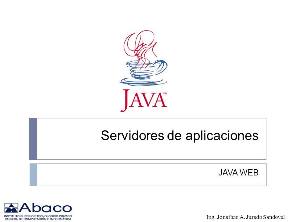 Servidores de aplicaciones