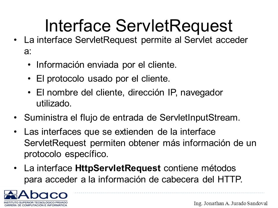 Interface ServletRequest