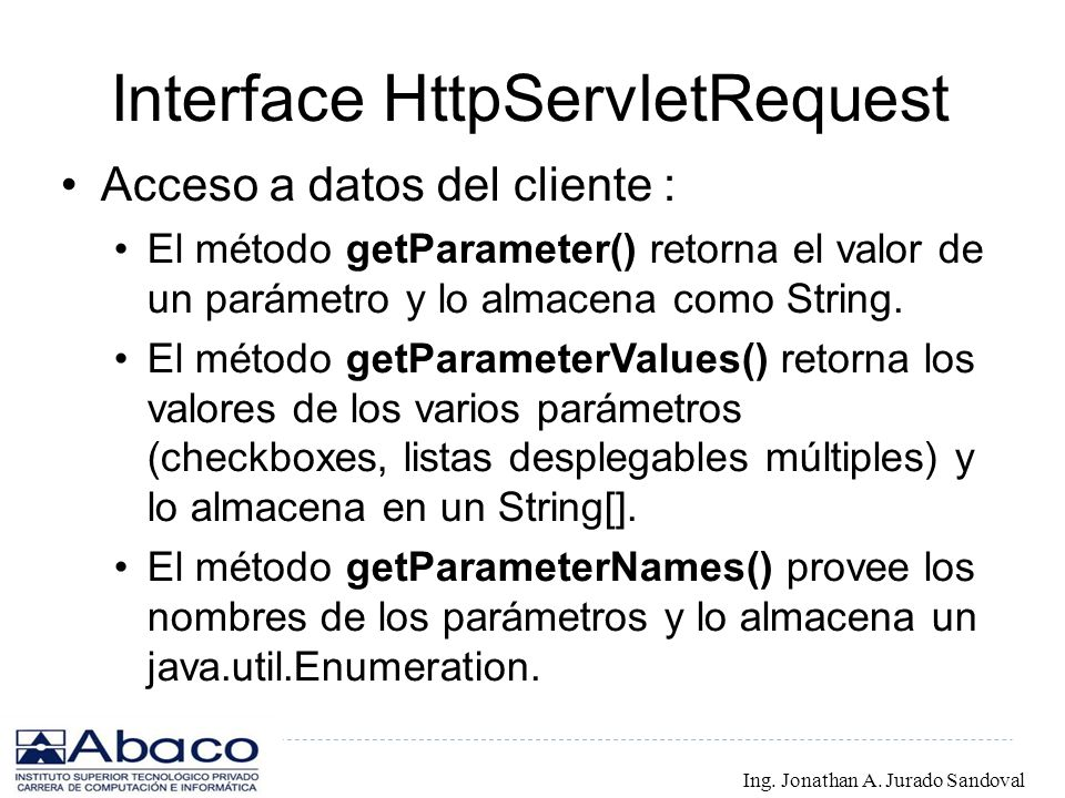Interface HttpServletRequest