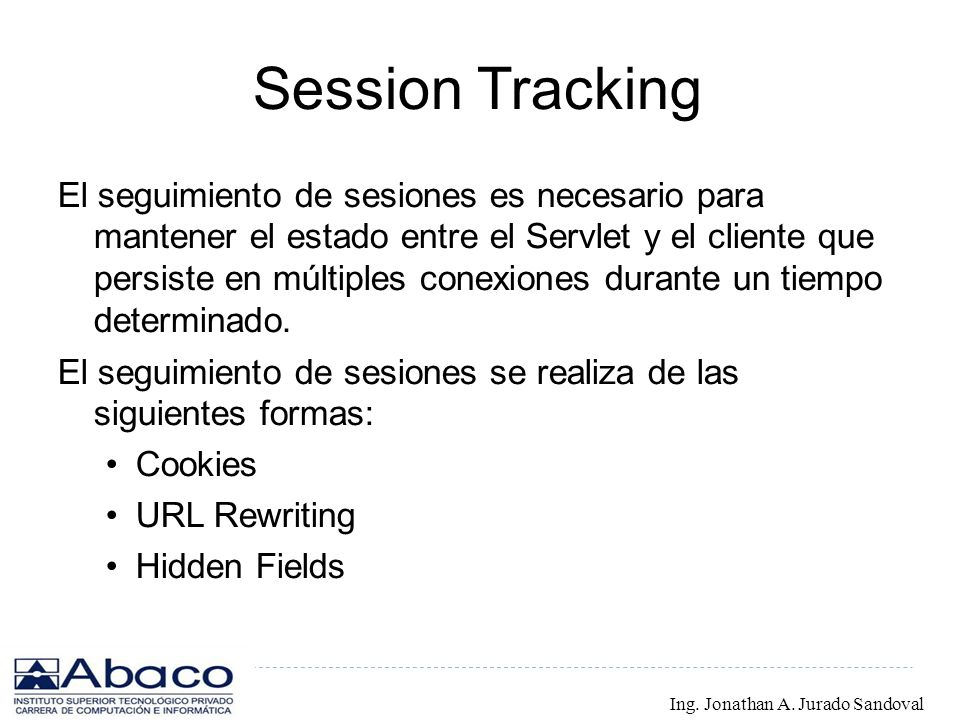 Session Tracking