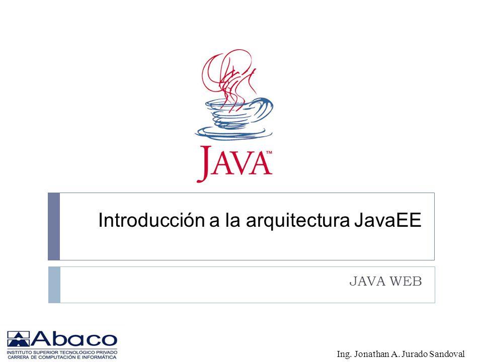 Introducción a la arquitectura JavaEE