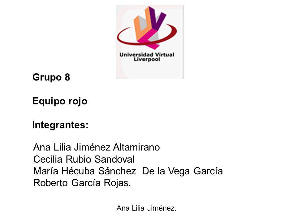 Ana Lilia Jiménez Altamirano Cecilia Rubio Sandoval