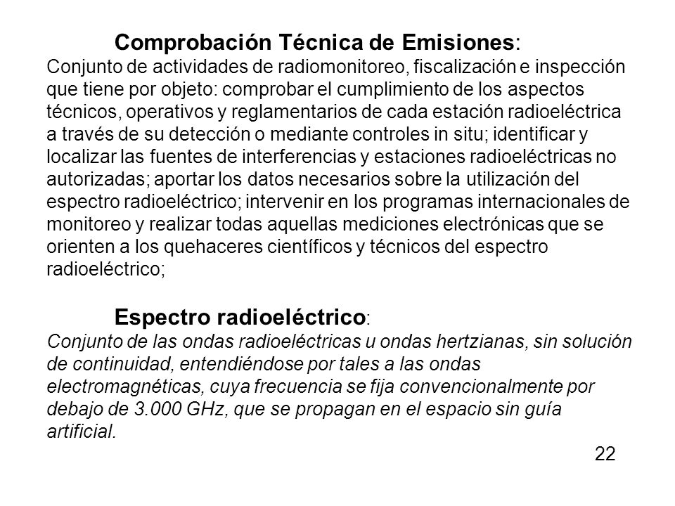 Comprobación Técnica de Emisiones: