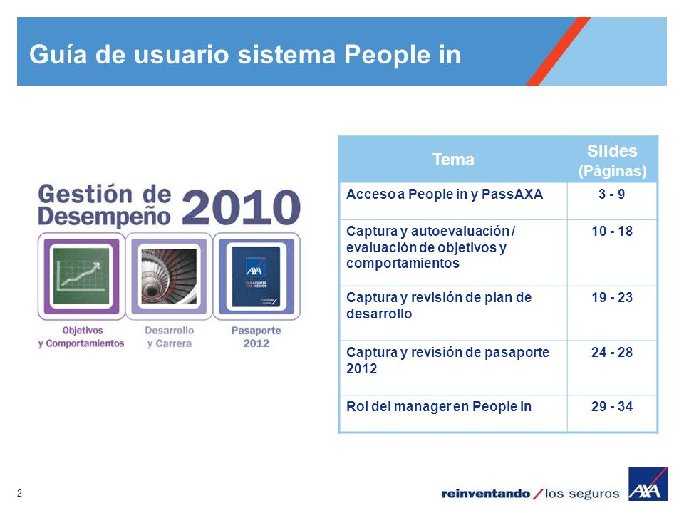 Guía de usuario sistema People in