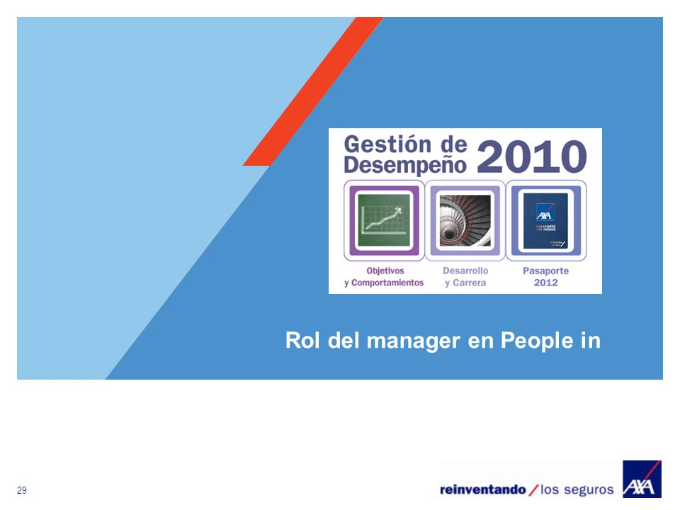 Rol del manager en People in