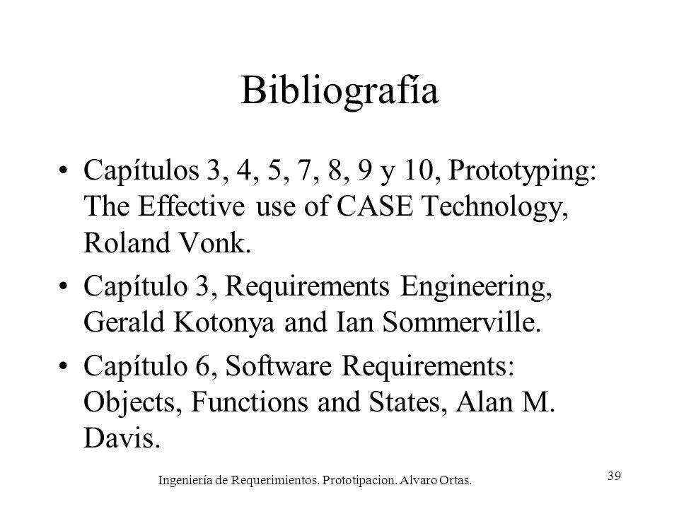 Ingeniería de Requerimientos. Prototipacion. Alvaro Ortas.