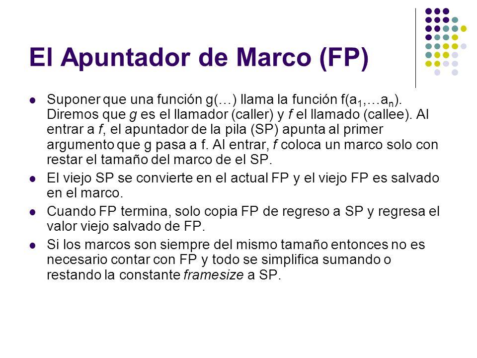 El Apuntador de Marco (FP)