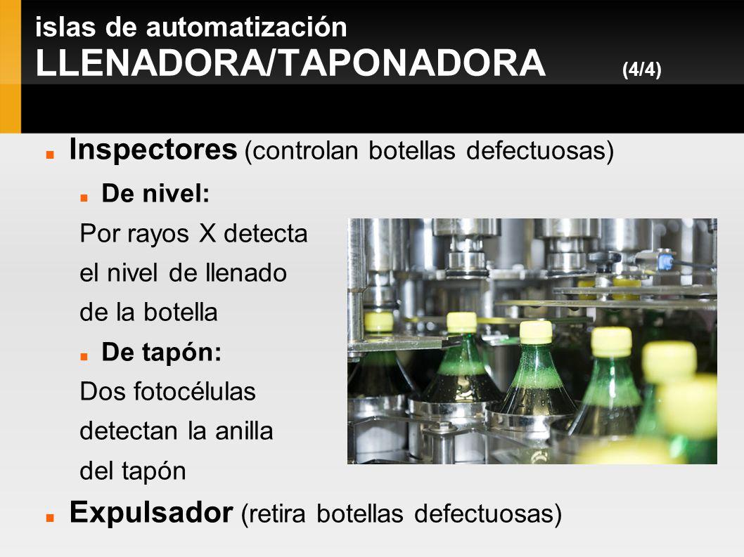 islas de automatización LLENADORA/TAPONADORA (4/4)