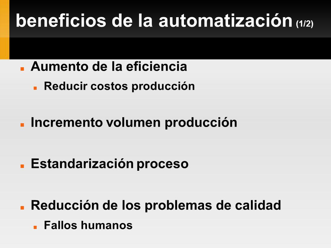 beneficios de la automatización (1/2)