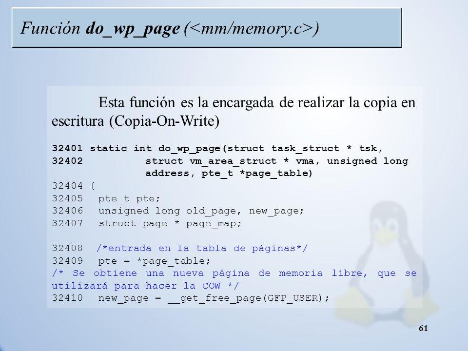 Función do_wp_page (<mm/memory.c>)
