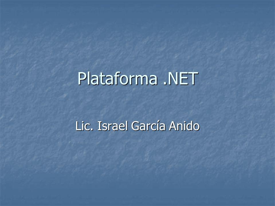 Lic. Israel García Anido