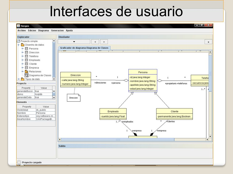 Interfaces de usuario 40