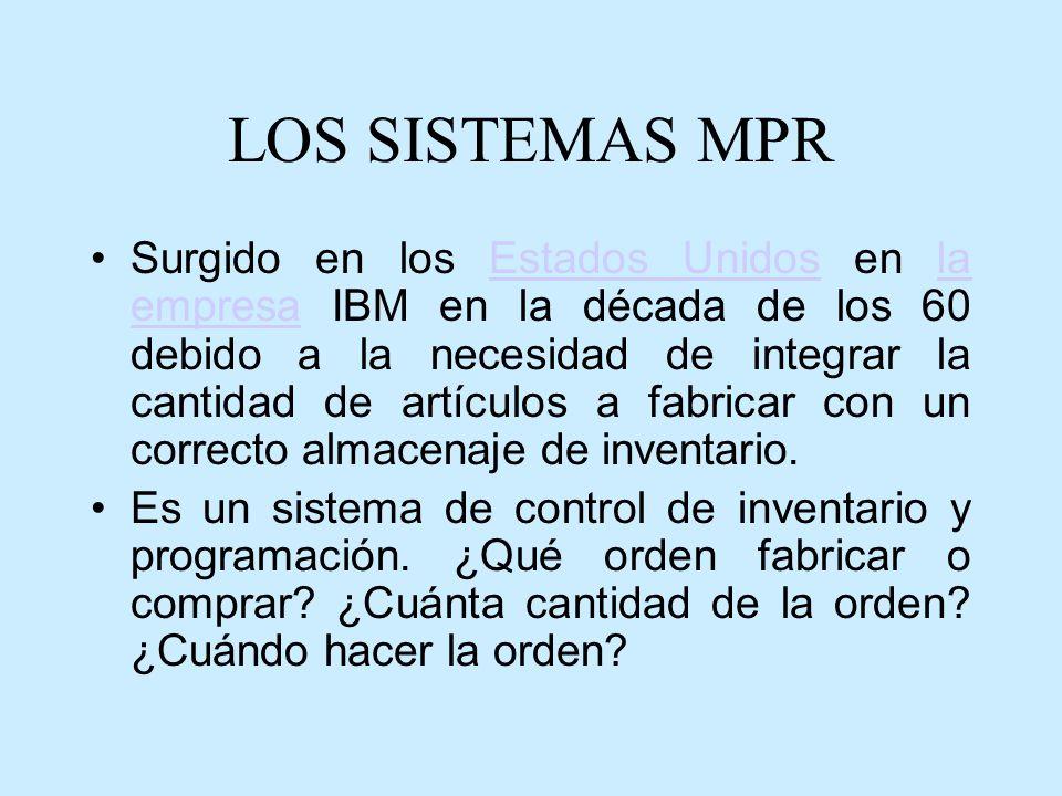 LOS SISTEMAS MPR