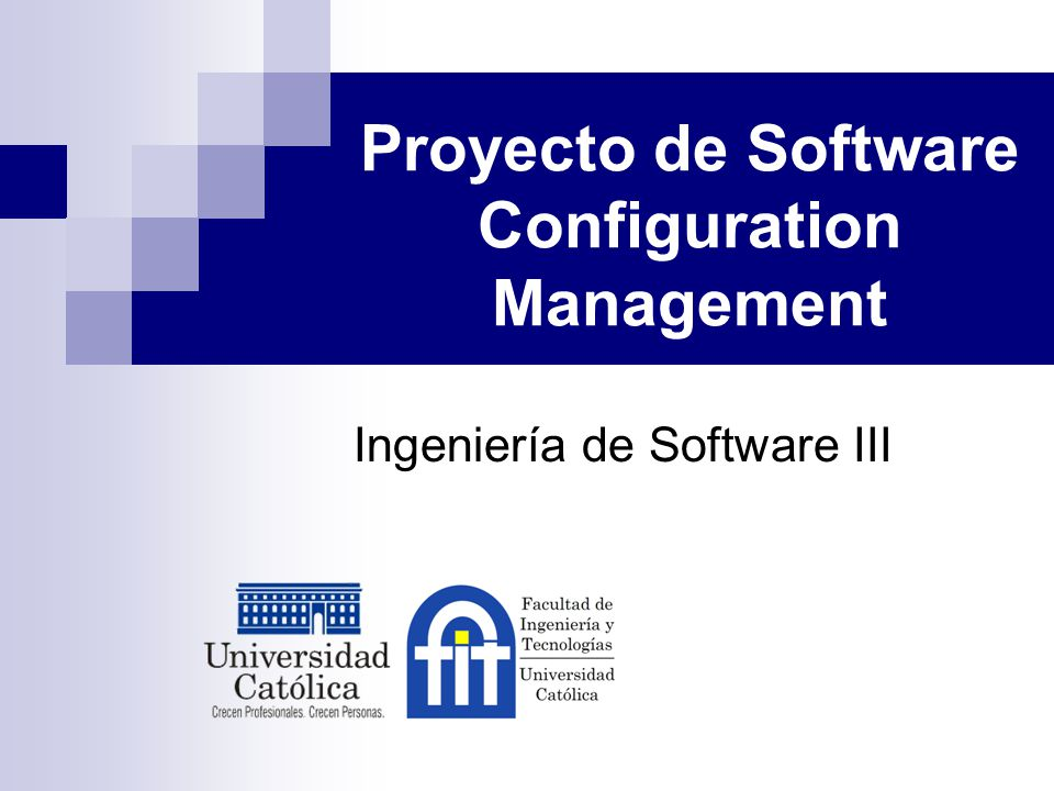 Proyecto de Software Configuration Management