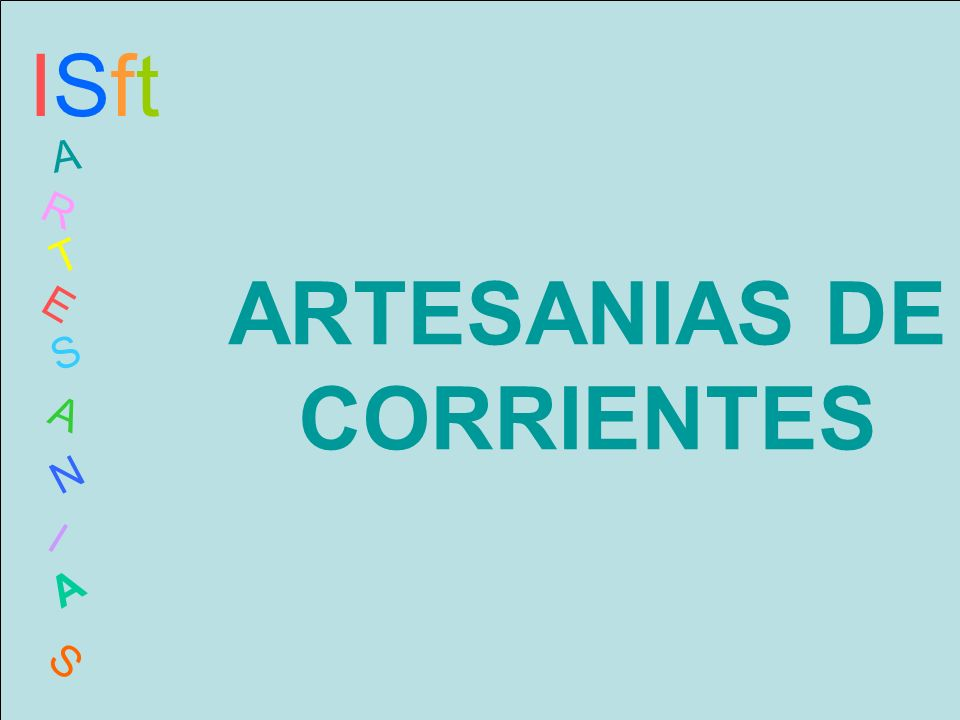 ARTESANIAS DE CORRIENTES
