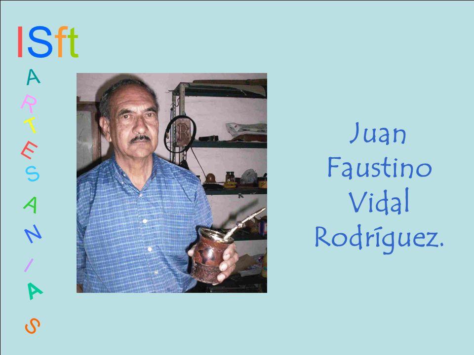 Juan Faustino Vidal Rodríguez.
