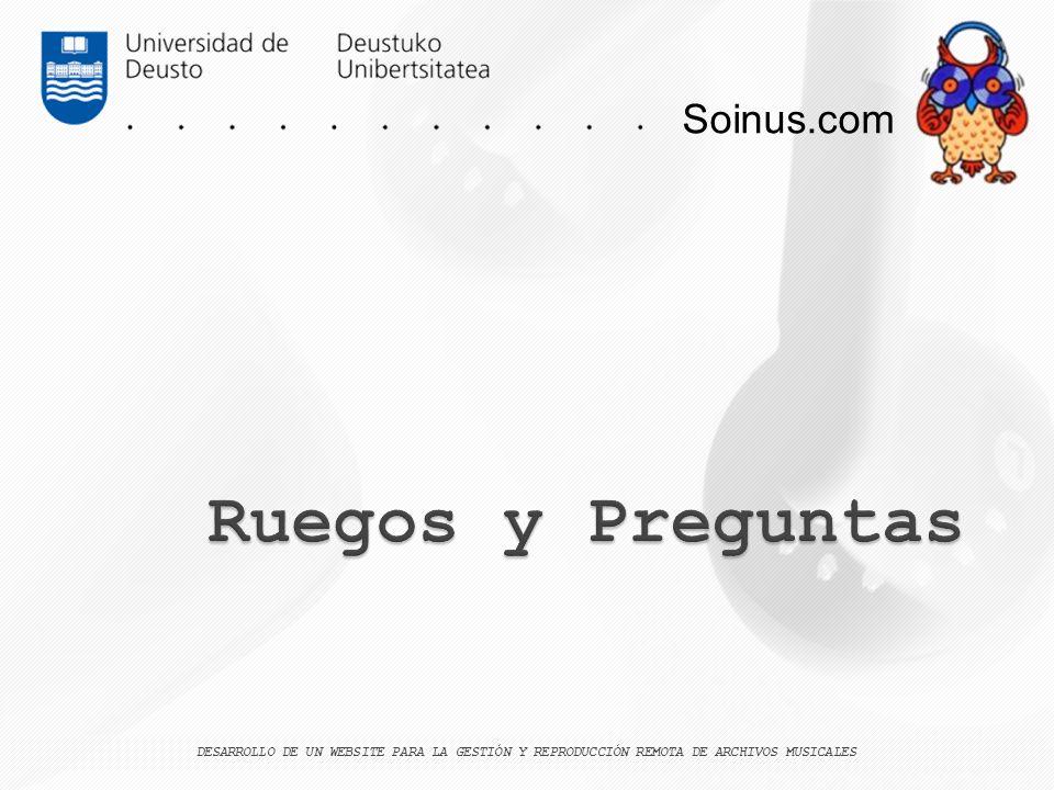 Ruegos y Preguntas Soinus.com