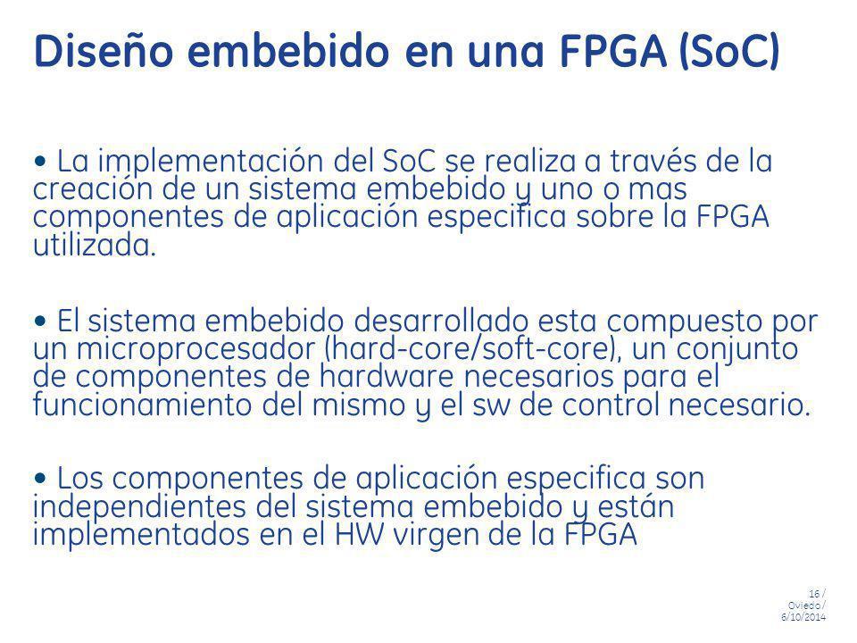 Diseño embebido en una FPGA (SoC)