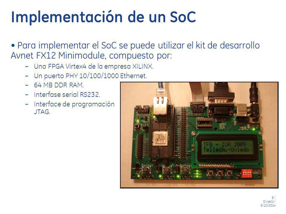 Implementación de un SoC