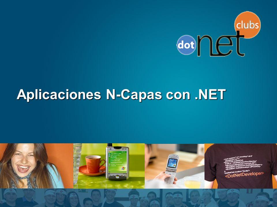 Aplicaciones N-Capas con .NET