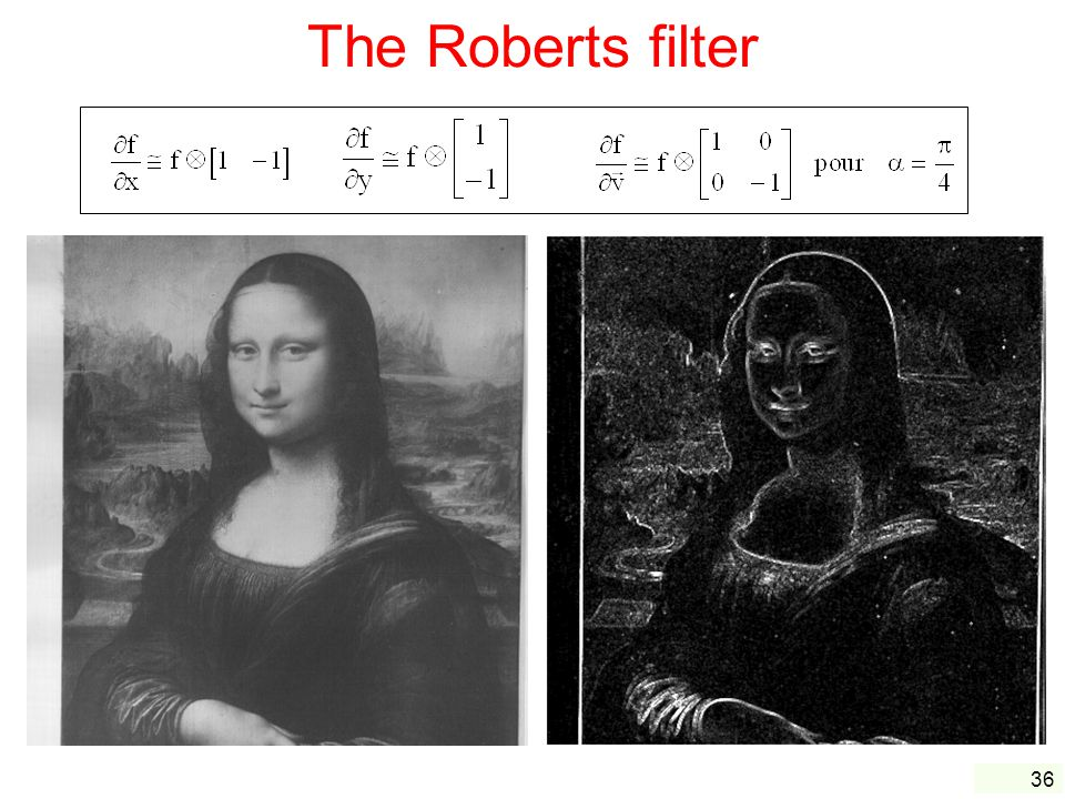 The Roberts filter