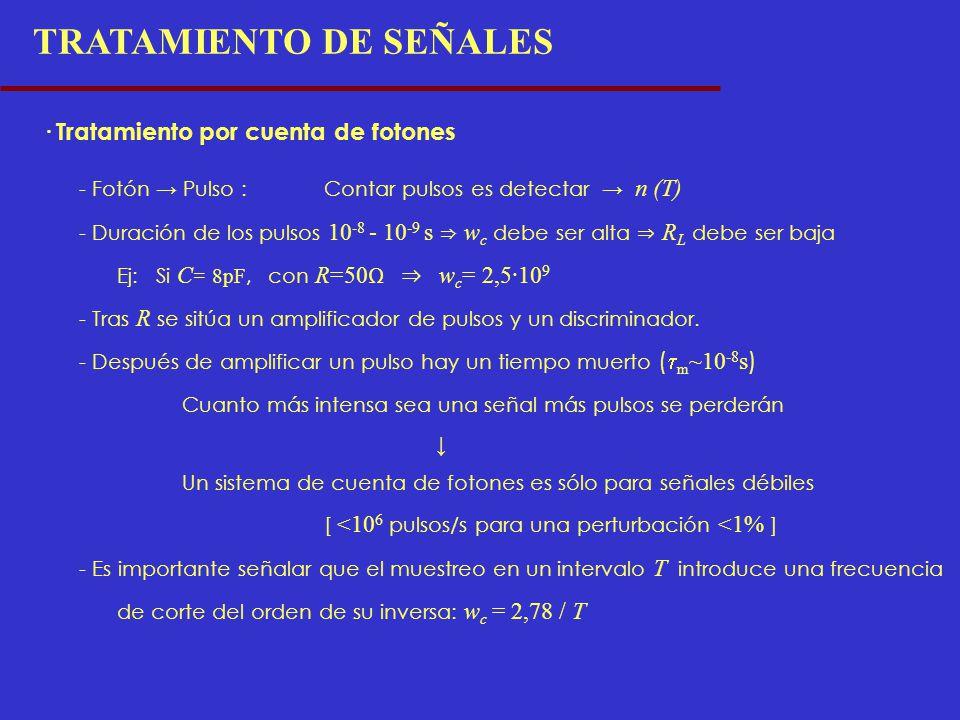 TRATAMIENTO DE SEÑALES
