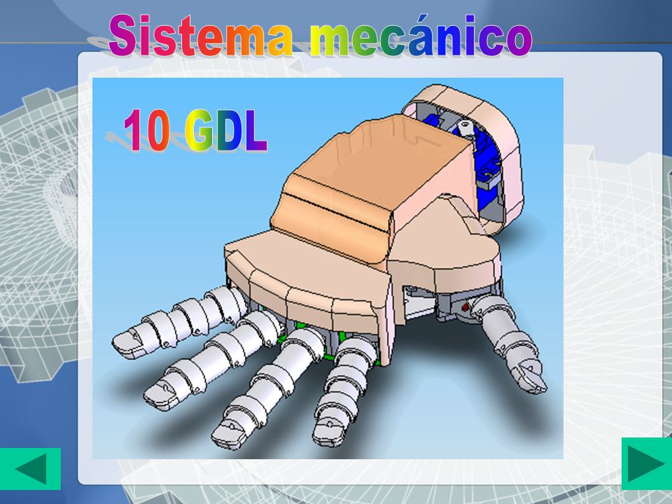 Sistema mecánico 10 GDL