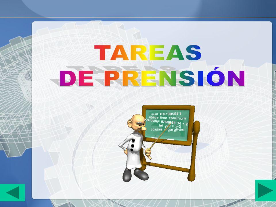 TAREAS DE PRENSIÓN