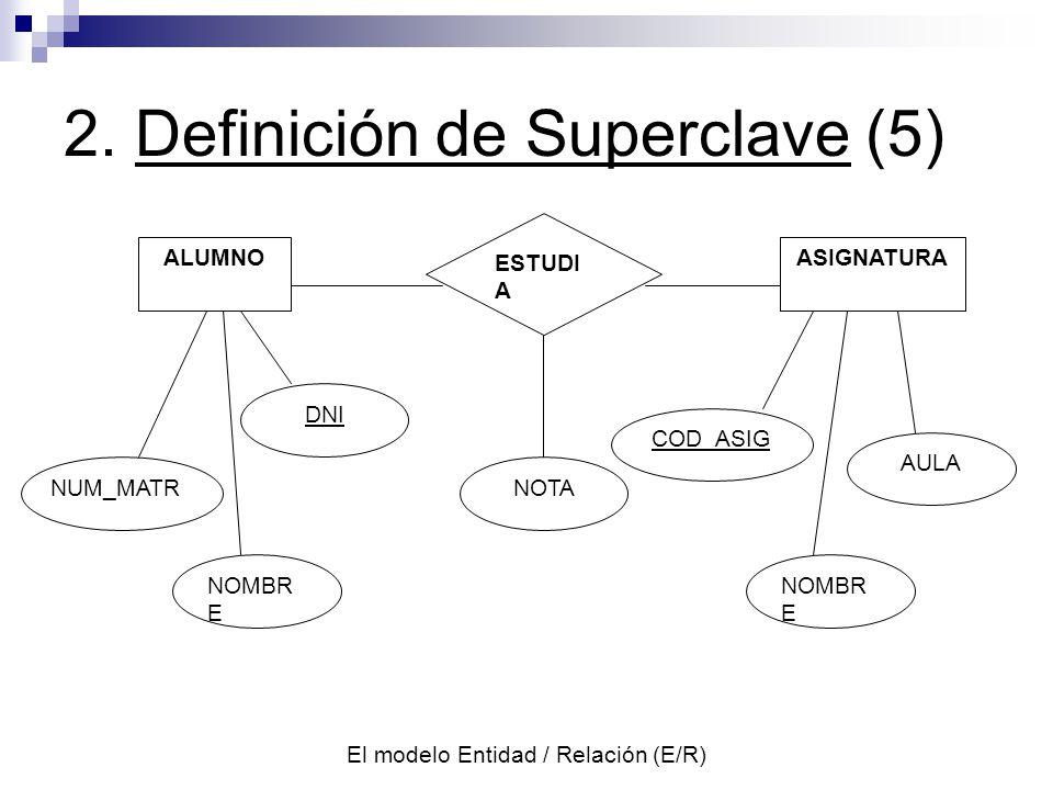 2. Definición de Superclave (5)