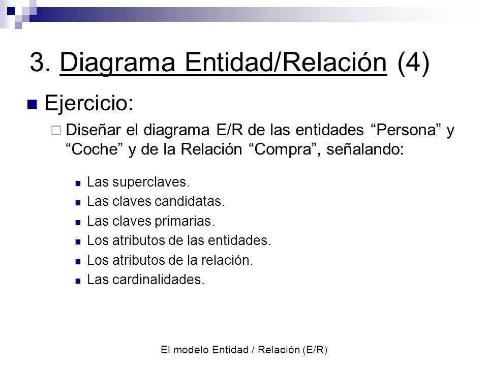 3. Diagrama Entidad/Relación (4)