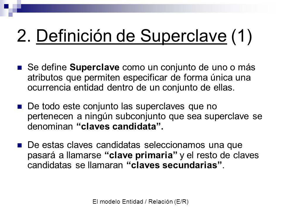 2. Definición de Superclave (1)