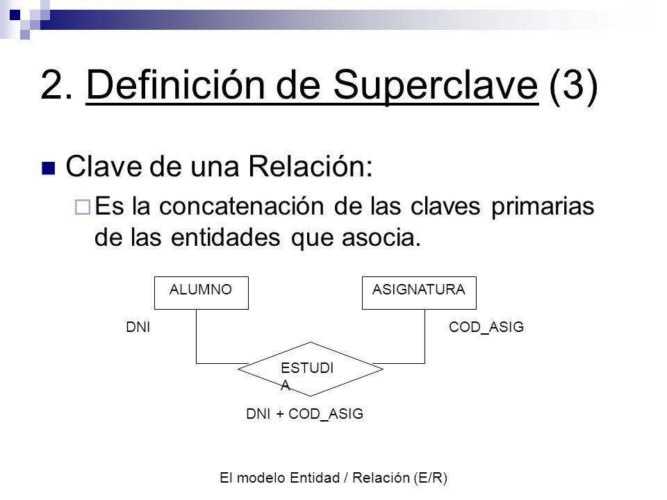 2. Definición de Superclave (3)