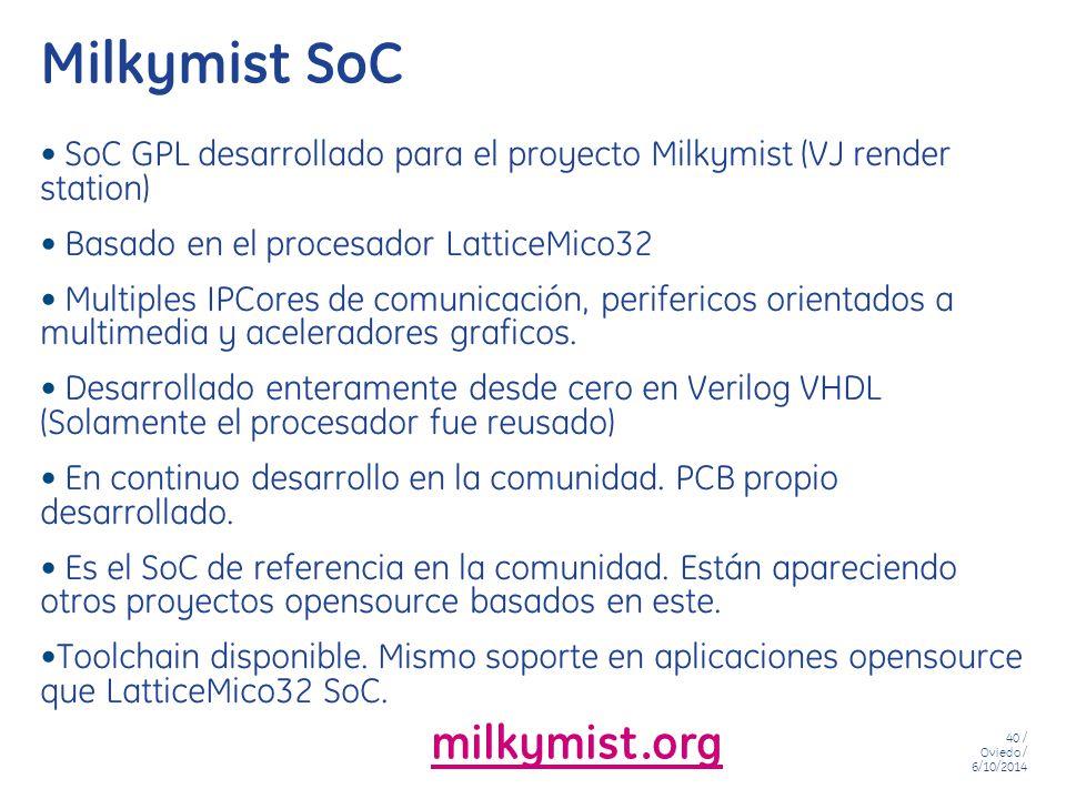 Milkymist SoC milkymist.org