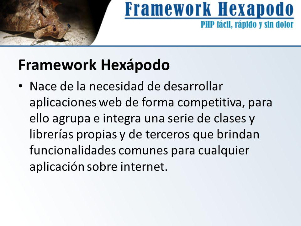 Framework Hexápodo