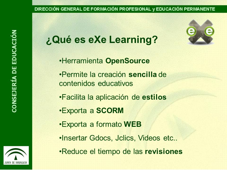 ¿Qué es eXe Learning Herramienta OpenSource