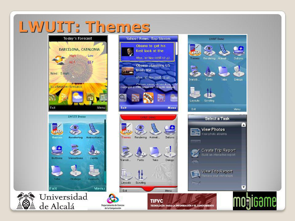 LWUIT: Themes