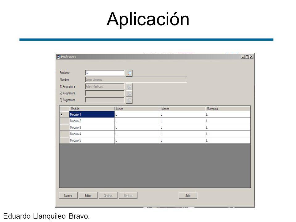 Aplicación Eduardo Llanquileo Bravo.