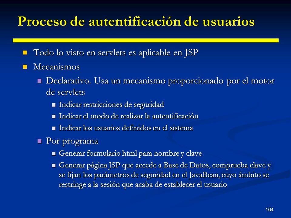 Proceso de autentificación de usuarios