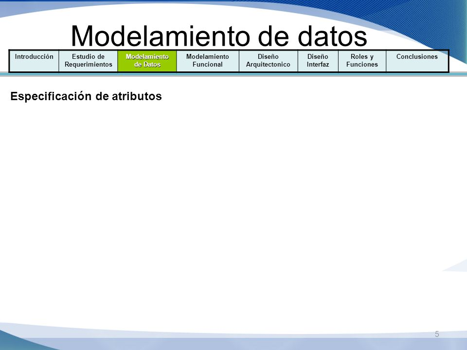Estudio de Requerimientos Modelamiento Funcional Diseño Arquitectonico