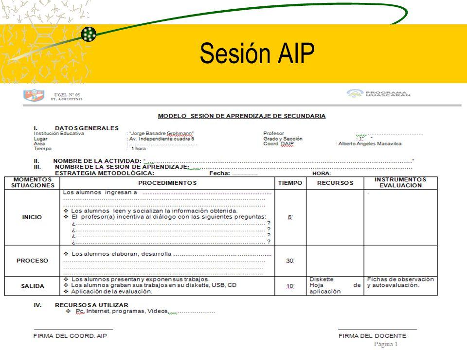 Sesión AIP