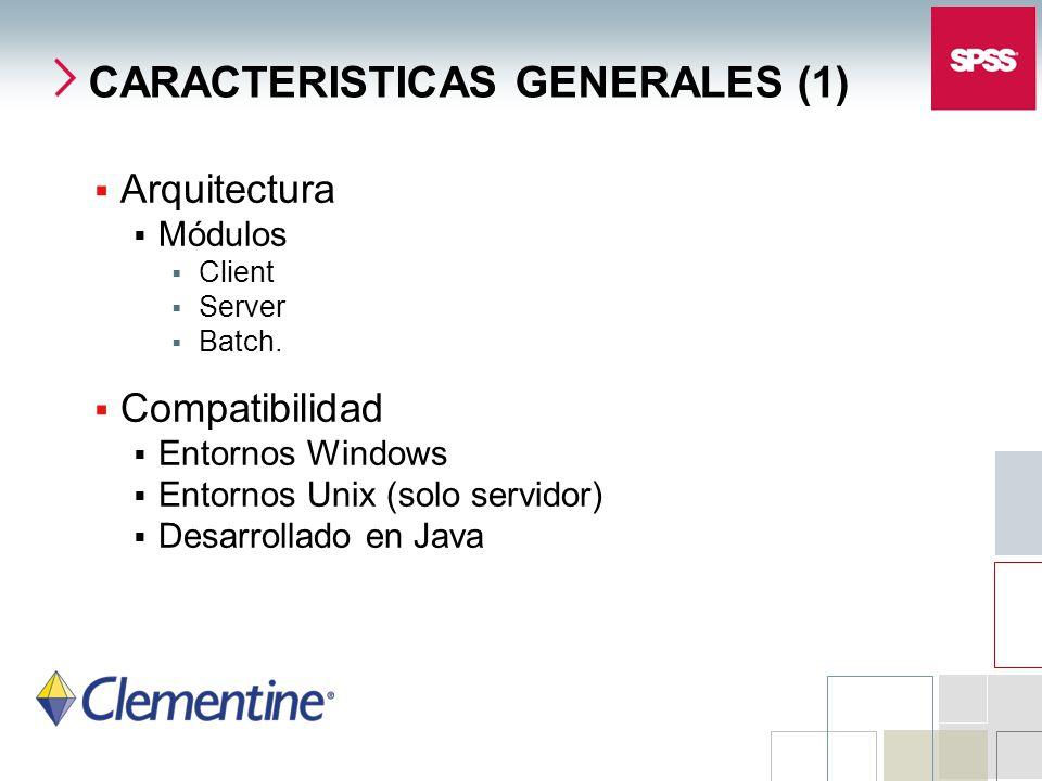 CARACTERISTICAS GENERALES (1)