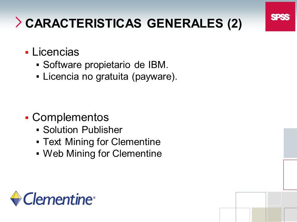 CARACTERISTICAS GENERALES (2)