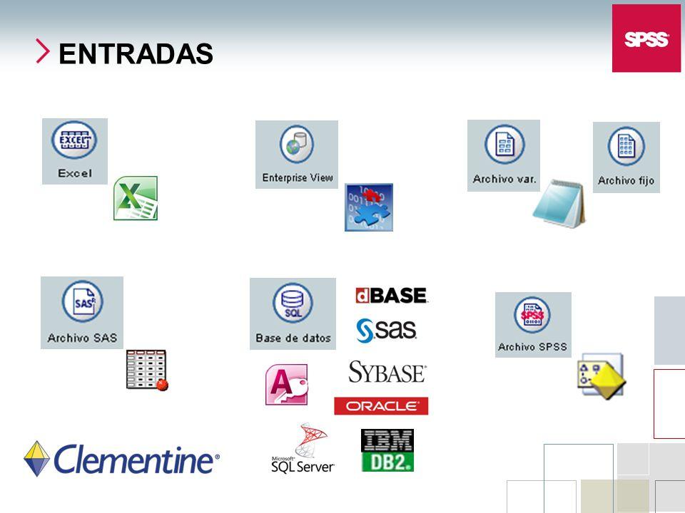 ENTRADAS SPSS Inc. Copyright 2006 SPSS Inc.
