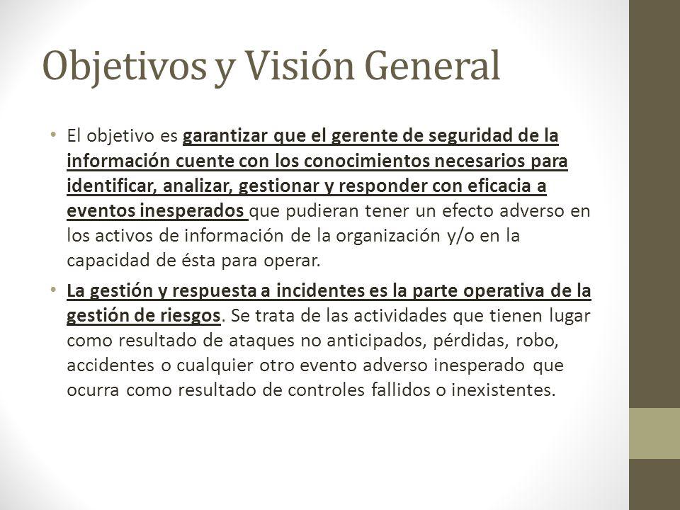 Objetivos y Visión General