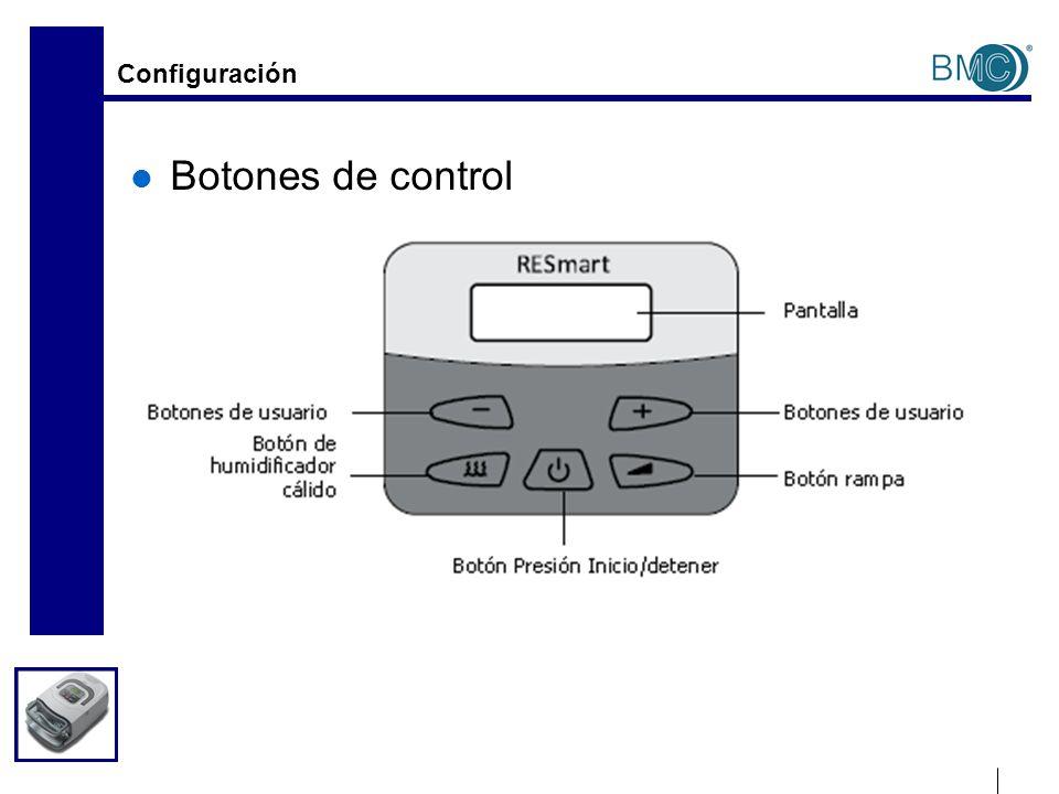 Configuración del usuario de AutoCPAP