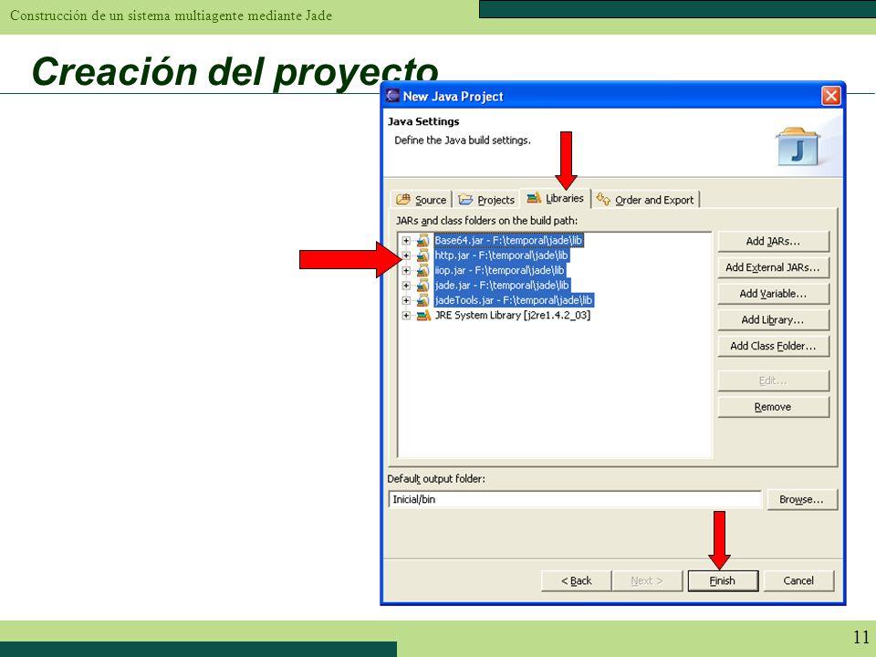 Creación del proyecto