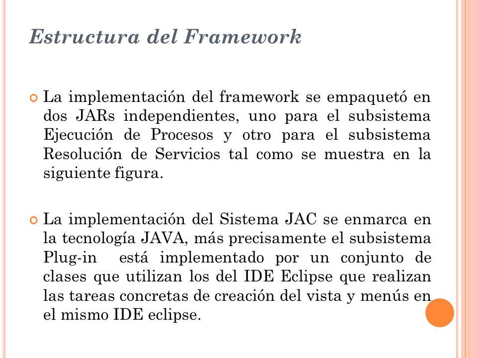 Estructura del Framework